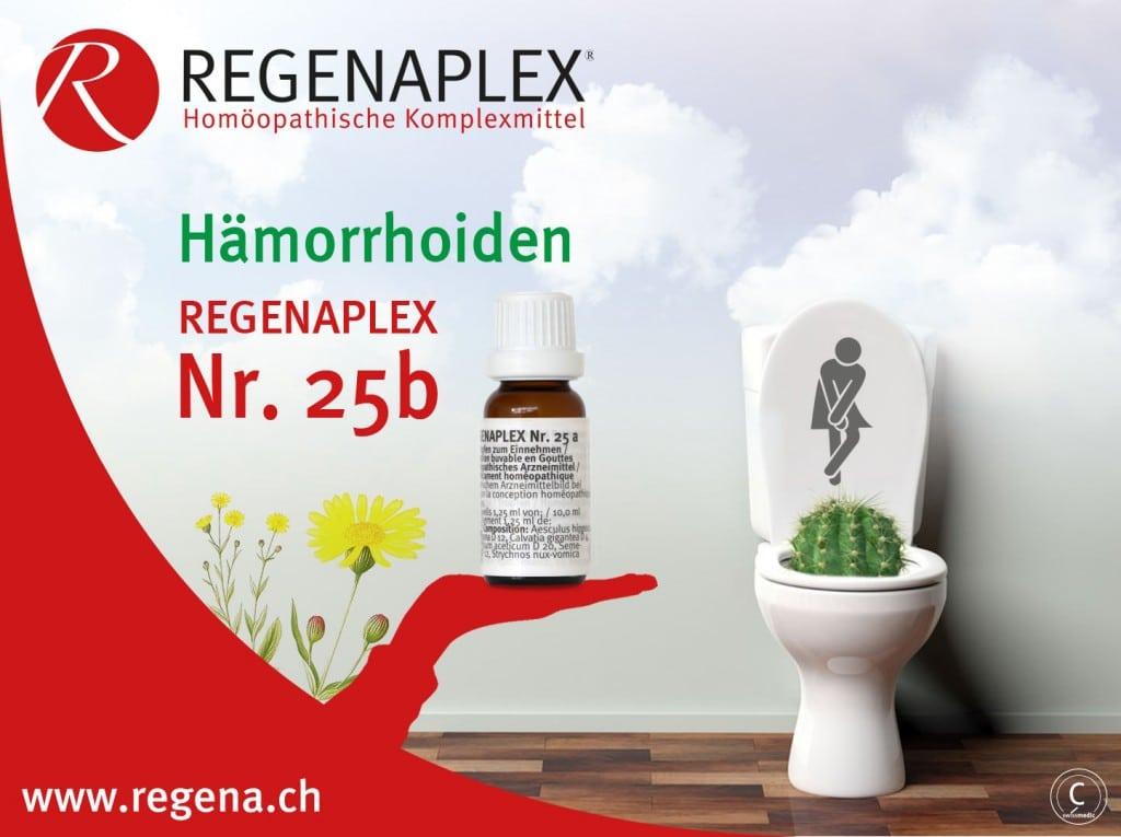 REGENAPLEX Nr 25b - Hämorrhoiden